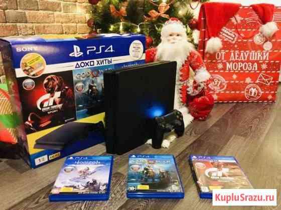 Sony PS4 Slim 1TB + 3 Игры На гарантии Киров