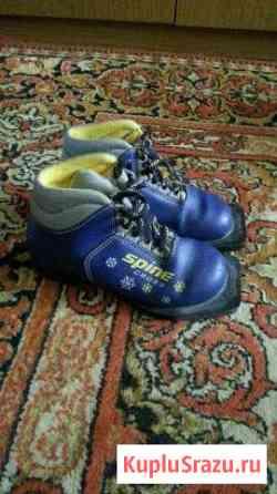 Лыжные ботинки 31, 34 и 35 размер Сосногорск