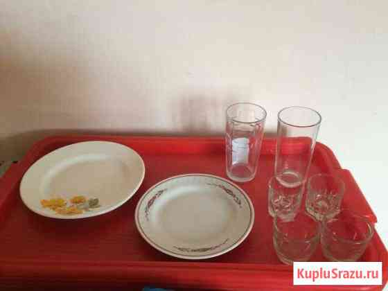 Тарелки и стаканы Ачинск