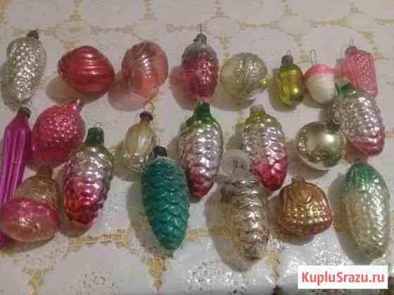 Елочные игрушки СССР Курск