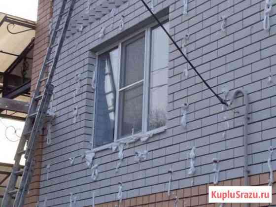 Утепление стен фасада в зазоры Пеноизолом,чердак,с Курск