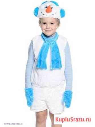 Новогодний костюм снеговика прокат Прохладный