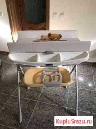 Ванночка+пеленальный столик (для малыша до 3-х мес Нальчик