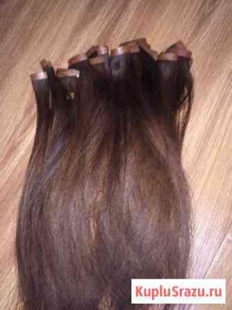 Волосы натуральные 40 см для холодного наращивания Нальчик