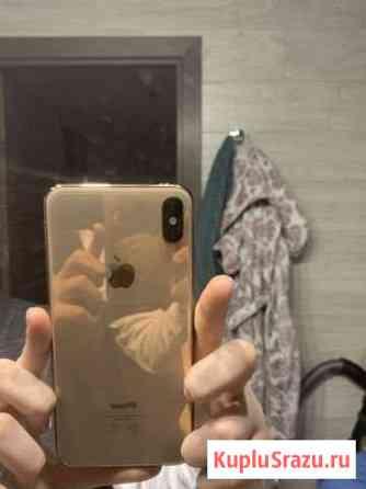 iPhone XS MAX (64) золотой 5 чехлов в подарок Знаменск