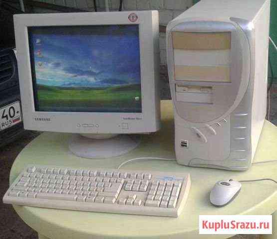 Продаётся компьютер Атлон в сборе, 1000MHz, 512Mb Калуга