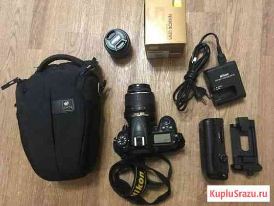 Nikon d7000 Kit 18-55 + 50mm+ 24-120mm Калуга