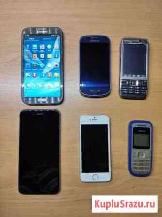 Мобильные телефоны на запчасти. Ценник за все Елизово