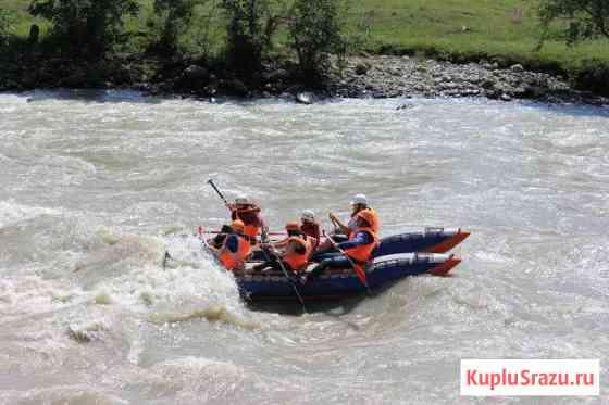 Рафтинг сплав по реке Теберда