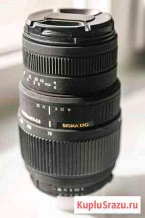 Sigma DG 70-300 f 4-5,6 Macro для Nikon Петрозаводск