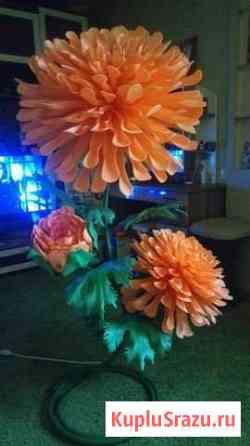 Шикарная хризантема светильник Норильск