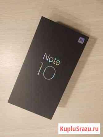Xiaomi mi note 10 6/128GB черный Великий Новгород