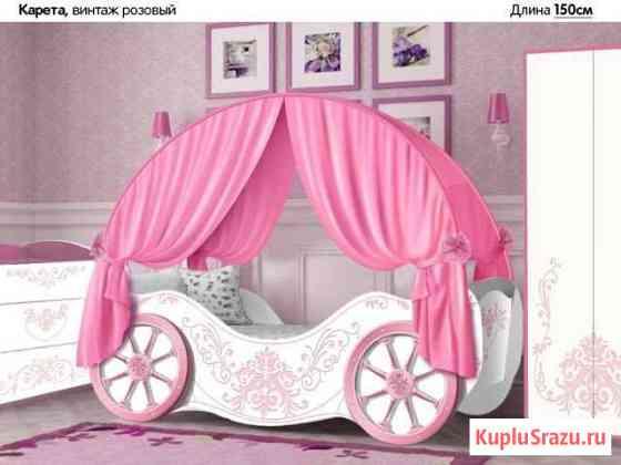 Кровать для девочки Омск