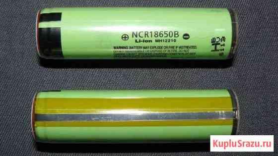 3 новых аккумулятора 18650 Panasonic NCR18650B Омск