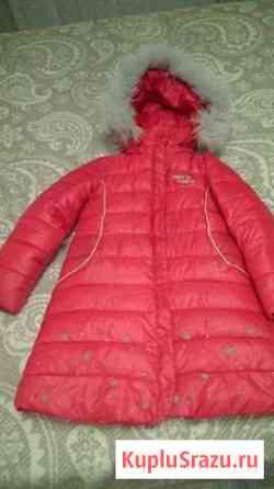 Зимнее пальто для девочки Оренбург