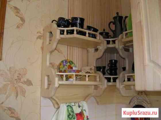 Полка кухонная из дерева Орёл