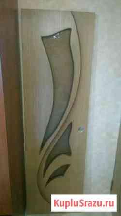 Дверь 200 на 60 см,цвет дуб Ухта
