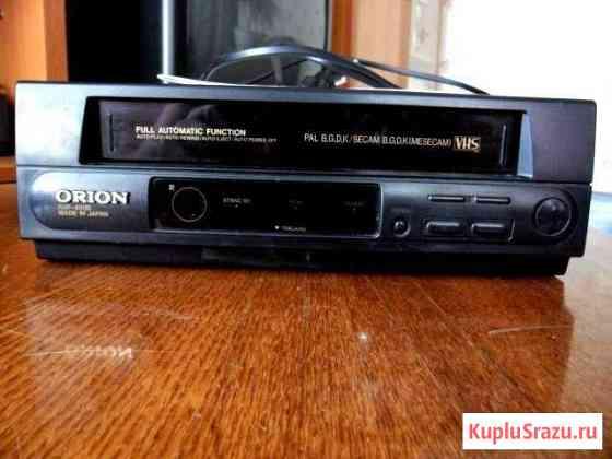 Видеоплеер кассетный Оrion и видеокассеты 90-х Нерехта