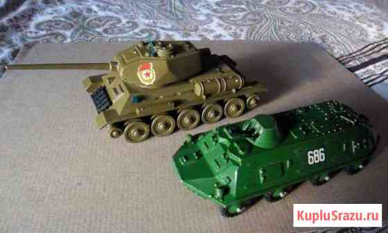 Модели советской бронетехники из металла 1:43 Нерехта