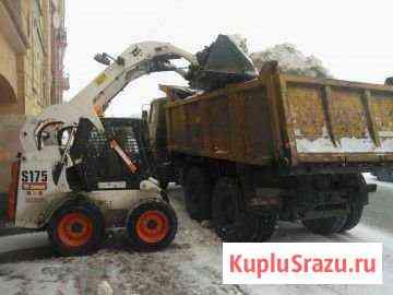 Уборка вывоз снега Красноярск