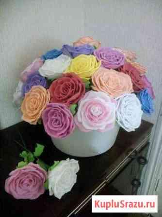 Цветы из фоамирана Грэсовский