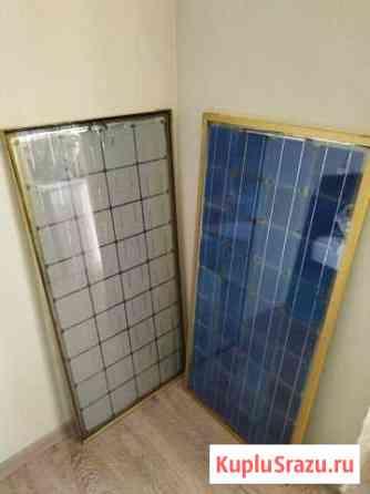 Солнечная панель 100Вт (2шт) самодел Ферсманово
