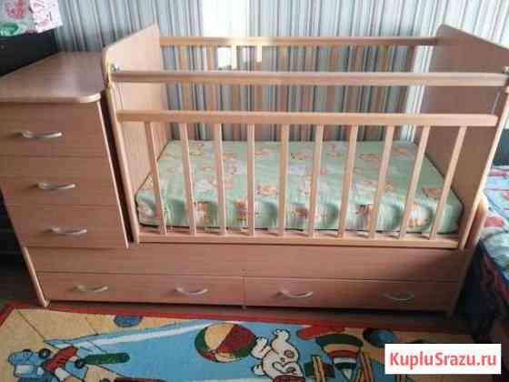 Детская кроватка Грязи