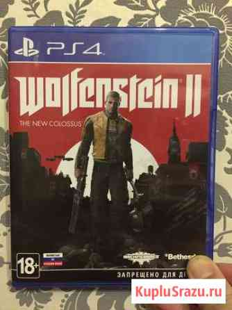Wolfenstein 2 the new colossus PS4 Липецк