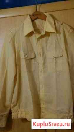 Кремовая рубашка Североморск