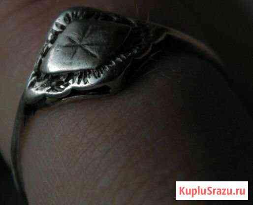 Перстень серебро Европа 19 - начало 20-го века Псков