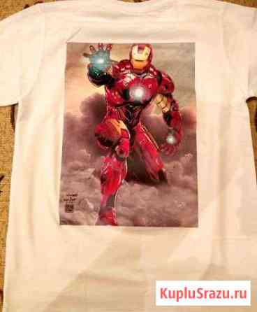 Фотопринт на футболке Курган