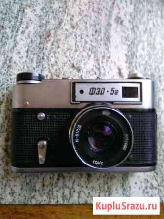 Пленочный фотоаппарат фэд 5 в red Щигры