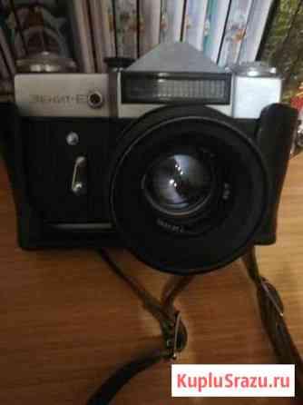 Фотоаппарат Зенит Е 1974 год Липецк