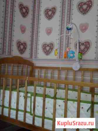 Кровать детская и Мягкий бортик в кроватку Йошкар-Ола