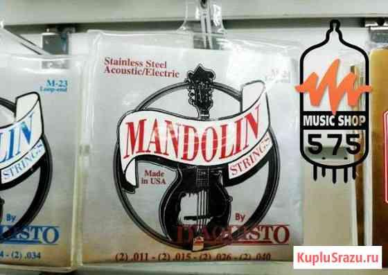 Струны для мандолины Daquisto M-24 (11-40) Новосибирск