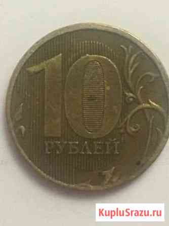 Монета с браком Орёл