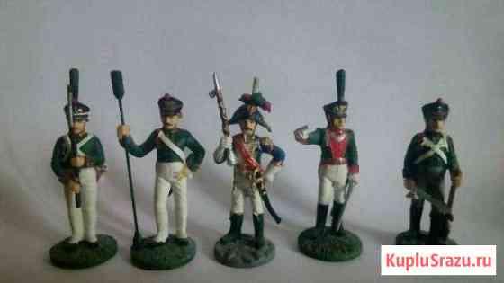 Оловянные солдатики Наполеоновские воины 10,12,1 Тверь