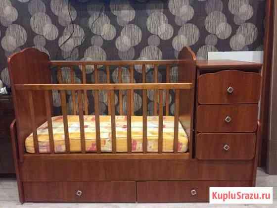 Кровать детская трансформер с маятником Мурманск