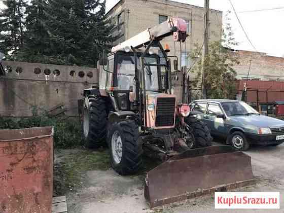 Манипулятор дэм 151 на базе мтз + прицеп Великий Новгород