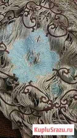 Кисея с вышивкой и стразами Оренбург