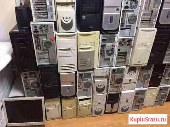 Корпуса старых компьютеров в сборе Соликамск