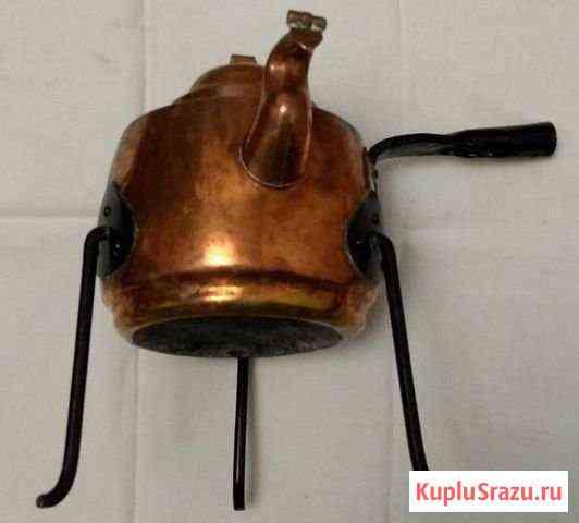 Бульотка чайник медь Северная Европа 20 век Псков