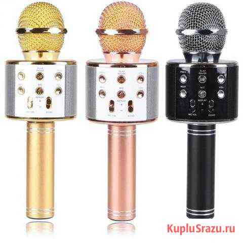 Bluetooth колонка микрофон+USB+радио wster WS-858 Рязань