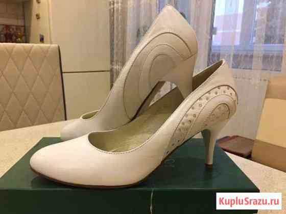 Туфли женские кожаные, р-р 39-40 Орёл