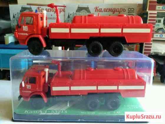 Камаз 53213 Пожарный модели СССР Орёл