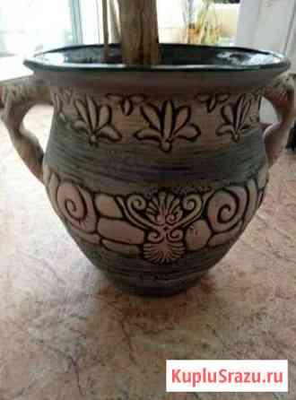 Кашпо (горшок) керамика Пермь