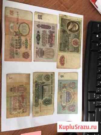 Купюры денег Тамбов