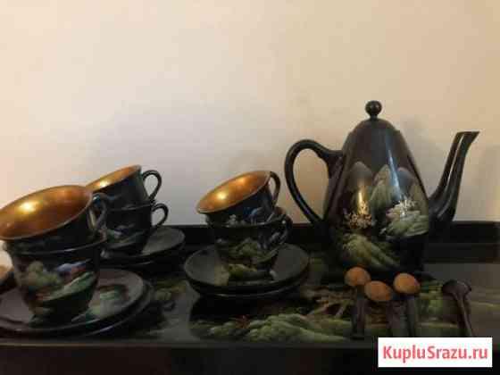 Сервиз чайный деревянный Саратов
