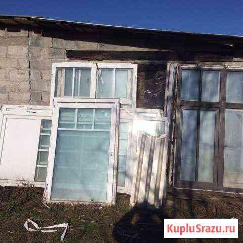 Пластиковые окна и двери б/у Владикавказ