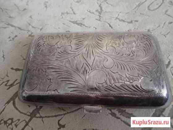 Портсигар серебряный-Англия Заокский